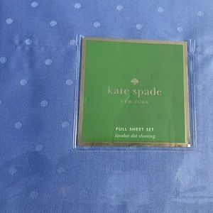 Kate Spade Full 4 Pc Sheets Larrabee Dot Mini Deco